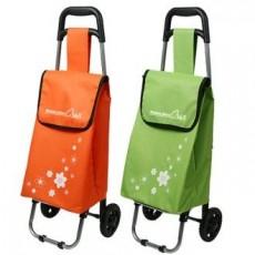 [가방(시장가방)] 미니 꽃무늬 쇼핑캐리어 200개