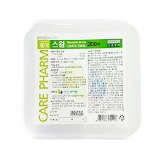 케어스왑 알콜솜 (200매) 1개